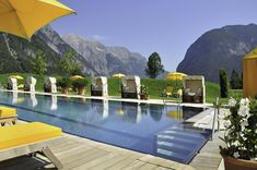 Sommer, Sonne, Sonnenschein im Hotel Quellenhof Leutasch in Tirol / Österreich!  #leadingsparesorts #leadingspa #wellness #wellnesshotel #wellnessurlaub #auszeit #entspannen #relax #pool #sommer #sonne #sonnenschein #reisen #hotel heimaturlaub #urlaubintirol #urlaubinösterreich #schwimmen #auszeit #ferien #sommerferien #relax #berg e#landschaft #natur #wolkenlos Wellness Hotel Tirol, Resorts, Bio Sauna, Olympia, Spa, Relax, Berg, Outdoor Decor, Home Decor