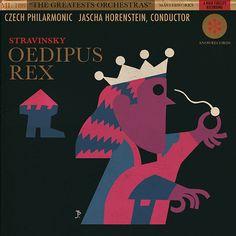 Joaquín Pertierra. Portada Oedipus Rex. Sin fecha
