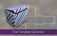Free Template Generator for Boxes, Bags and More » Curbly | DIY Design Community