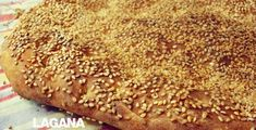 Καθαρά Δευτέρα χωρίς τραγανές, σουσαμένιες λαγάνες δεν γίνεται! Το παραδοσιακό ψωμί είναι πανεύκολο! Φέτος φτιάξτε λαγάνες με τα χεράκια σας, γευτείτε την τέλεια λαγάνα, η συνταγή είναι απλή! Υλικά 6 φλυτζάνια αλεύρι για όλες τις χρήσεις 35 gr. μαγιά νωπή 4-5 κουταλιές της σούπας ελαιόλαδο 2 κουταλιές της σούπας μαργαρίνη… Flour Recipes, Easy Cake Recipes, The Kitchen Food Network, Pastry Art, Greek Recipes, Food Preparation, Food Network Recipes, Banana Bread, Brunch