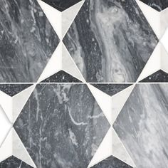 KELLY WEARSTLER X ANN SACKS. Liaison Benedict Large marble mosaic tiles.
