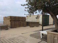 Einde seizoen bij Millers Beach Kijkduin 14 oktober 2016