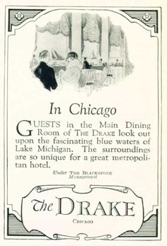 the drake hotel chicago pictures - Google Search
