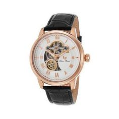 Lucien Piccard Optima Leather Watch