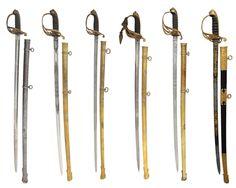 British Pattern 1845 Infantry Officers' Swords