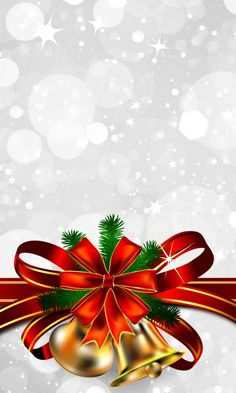 Download 480x800 «Christmas Bells» Cell Phone Wallpaper. Category: Holidays