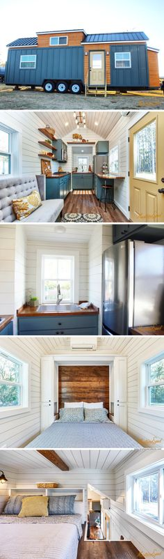 The Cypress Tiny House (350 Sq Ft)