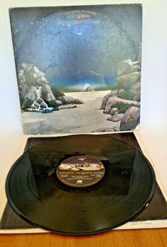 Yes Tales From Topographic Oceans DBL. LP Atlantic SD 2-908 GATEFOLD