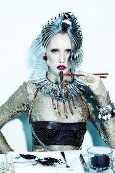 Jamie Nelson: Shoot with model Gabrielle Sullivan at Wilhelmina, future fashion, luxury lifestyle, futuristic fashion