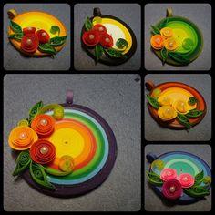 Rainbow pendents