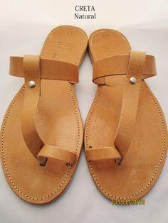 Natural Greek leather sandals by GreeksandalsPenelope on Etsy Sandals Wedding, Bridal Sandals, Real Leather, Soft Leather, Brown Leather, T Strap Sandals, Gladiator Sandals, Shoes Too Big, Leather Sandals Flat