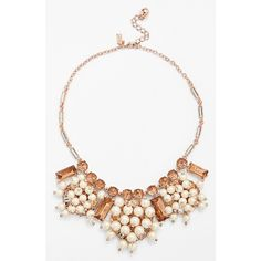 kate spade new york 'clink, clink' bib necklace