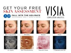 Our #FallIntoTheHolidays event is coming up on November 3rd! ❄️ All attendees will receive a free VISIA Complexion Analysis, which gives you a skin health score across the 8 dimensions of a heathy complexion.  Learn more about the skincare freebies, giveaways, and more reasons to stop by Aesthetic Dermatology for this free event: www.dermatologistsofbirmingham.com/aesthetic-dermatology-fall-winter-open-house