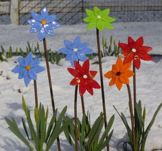Fused Glass Art | Garden Art | West Linn Arts Festival