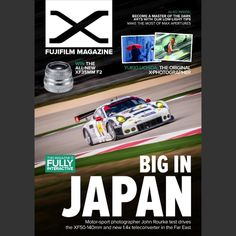 A little bit of cover action going on in the latest Fujifilm Magazine. Looks great! Cheers guys! #magazine #published #lenstest #lensporn #cameraporn #travelshooteditrepeat #xphotographer #lifeasaphotographer #lifestyle #published #editorial #photography #motorsport #automotive #instacar #link #adrenalmedia