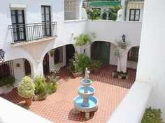 homes with center courtyard - Google Search