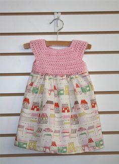 Girls Crochet Market Dress