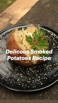 Pellet Grill Recipes, Grilling Recipes, Smoking Recipes, Smoking Food, Side Dish Recipes, Side Dishes, Potato Recipes, Potato Ideas, Smoked Potatoes