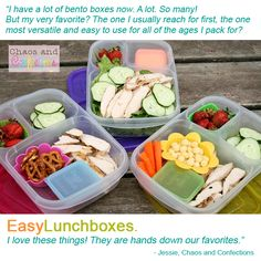 5 reasons why EasyLunchboxes are my hands down favorite for packing lunches