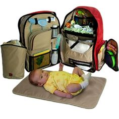 Mochila Okkatots Baby Depot Diaper Bag Backpack