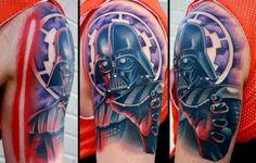Darth Vader Illustration Star Wars tattoo