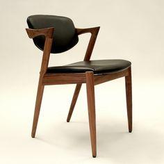 Kai Dining Chair - Walnut  Great Dane Furniture Melbourne