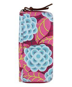 Look at this #zulilyfind! Tea Rose Raspberry Treasure Organic Wallet #zulilyfinds