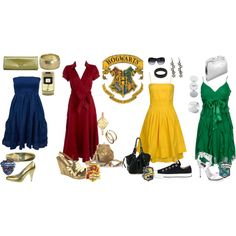 Designer Clothes, Shoes & Bags for Women Harry Potter Dress, Harry Potter Style, Harry Potter Room, Harry Potter Images, Harry Potter Outfits, Harry Potter Fandom, Maquillage Harry Potter, Harry Potter Accessories, Character Inspired Outfits