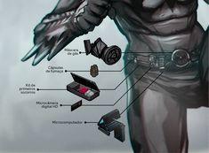 Batman Comic Art, Gotham Batman, Batman Robin, Nightwing Cosplay, Batman Armor, Batman Suit, Weapon Concept Art, Armor Concept, Armadura Do Batman