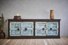 Old Door Sideboard Antique Indian Door Buffet Media Console
