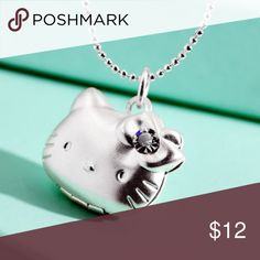 Brand new! Hello kitty locket. Perfect gift for all hello kitty lovers in your life. Silver toned alloy. Jewelry