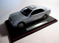 Maisto 1:18 1998 Mercedes Benz S500-Class Die Cast Model Dealer Introduction #Maisto #MercedesBenz250