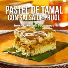 Si de comer tamales originales se trata, tienes que preparar esta receta de Pastel de Tamal con Sals Pumpkin Recipes For Dogs, Bien Tasty, Cooking Time, Cooking Recipes, Tamale Recipe, Buzzfeed Food, Holiday Baking, Mexican Food Recipes, Love Food