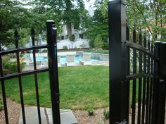 Fredericksburg Virginia Pool, Patio, Pergola and Landscape Project - traditional - Pool - Dc Metro - Revolutionary Gardens
