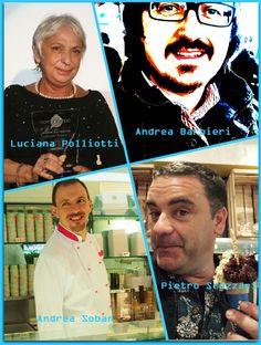 The Technical Jury: Luciana Polliotti, Andrea Barbieri, Andrea Soban, Pietro Scozzari