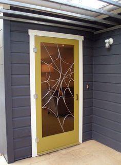 Spiderman screen door