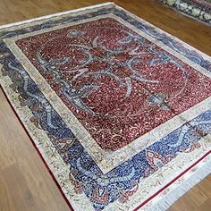 Camel Carpet Blue and Red Chinese Hand Knotted Silk Rugs ... http://www.amazon.com/dp/B00X6SHGC8/ref=cm_sw_r_pi_dp_9Bcixb1XA0NX4