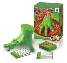 Entertaining won't be a problem with this creepy hand game. #Christmas