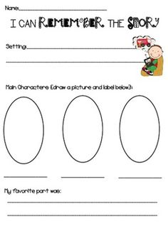 Simple graphic organizer for the lower primary.  I could also use this as a book report form.