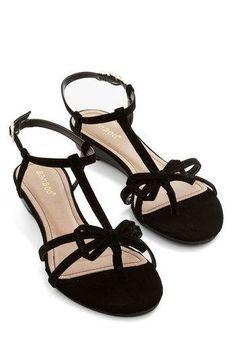Impromptu Date Sandal in Black