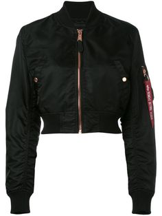 b95d0abfeed Alpha Industries Cropped Bomber Jacket - Farfetch