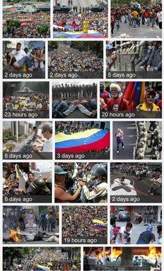 #Venezuela-> ESTAMOS AL LADO CORRECTO DE LA HISTORIA CALLE Y GUARIMBA TODOS pic.twitter.com/tV5aF6nV7c pic.twitter.com/9S5ehECXOf #Cuba