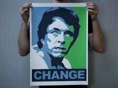CHANGE - A2 SCREENPRINT INSPIRED BY THE INCREDIBLE HULK (1978-1982)