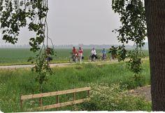Fietsen door de mooie Noord-Bevelandse polders...