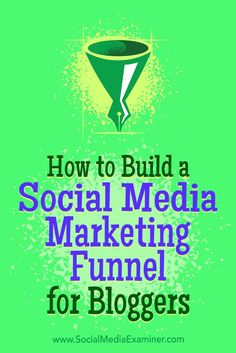 Wondering how to combine blog posts with social media content to move people through the sales cycle?In this article, you��lldiscover how to use blog posts to create social media content at every stage of your marketing funnel.
