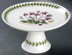 Portmeirion Botanic Garden Cyclamen Pedestal Cake Stand 8946686 | eBay