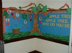 Image result for Apple Bulletin Board for Preschool