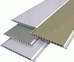 Globe Decorators Contemporary styled continental door panels available as coloured, white or wood grain PVC-U with modern stainless steel trims. Pvc Wall Panels, Pvc Pipe, Panel Doors, Wood Grain, Contemporary Style, Blinds, Cool Photos, Curtains, Ceiling