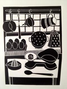 Work by Jan Brewerton titled 'Kitchen Scales'