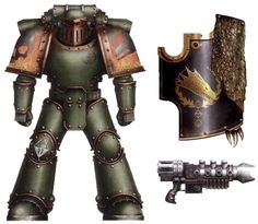 Salamanders - Warhammer 40k - Wikia Warhammer 40k Salamanders, Salamanders Space Marines, Warhammer Art, Warhammer Models, Warhammer Fantasy, Warhammer 40000, Military Art, Military History, Tau Empire
